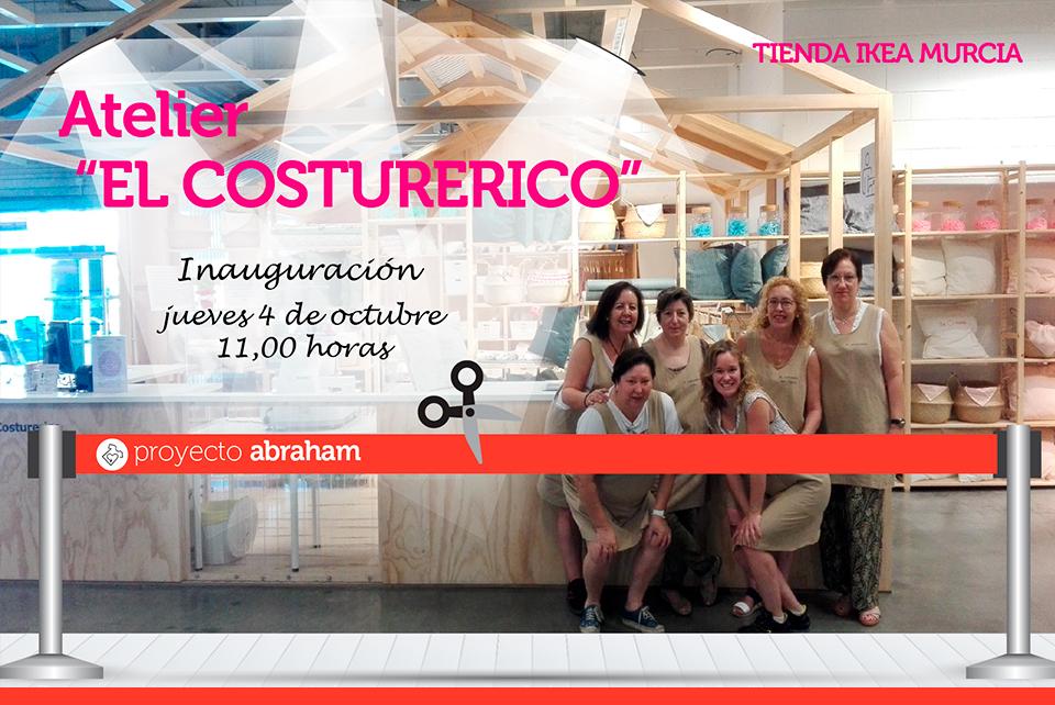 Inauguración Atelier El Costurerico en Ikea Murcia