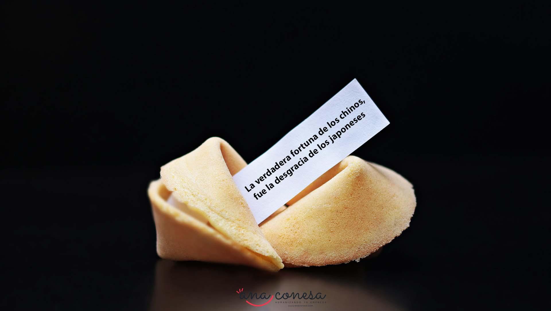 Los primero escritores de galletas de la fortuna fueron los japoneses