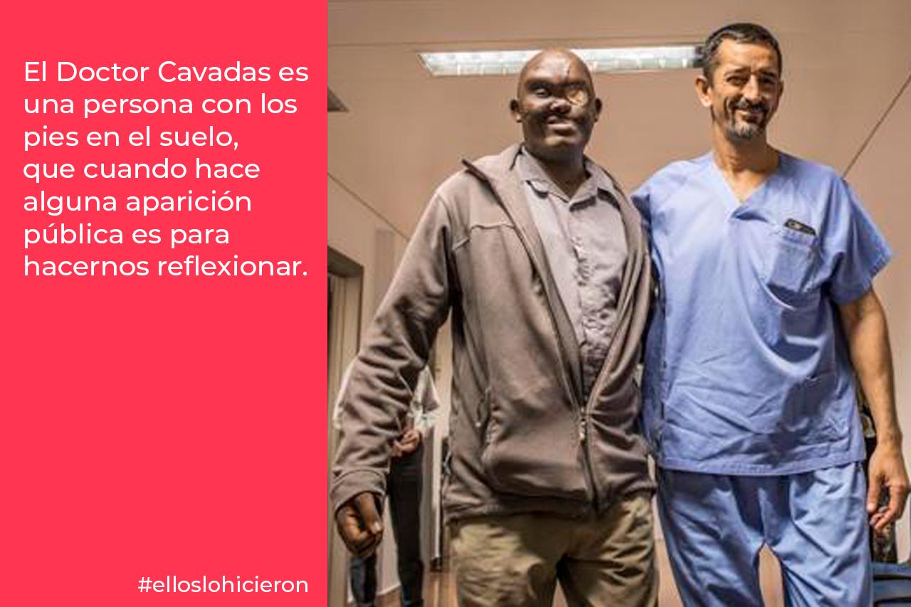 El Doctor Cavadas, la humildad de un gran médico