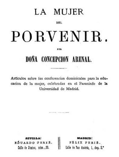 Concepción Arenal, la primera mujer española que se cuela en una universidad